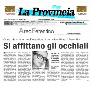 0 articolo LaProvincia