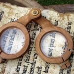 Occhiali tipo Medioevo
