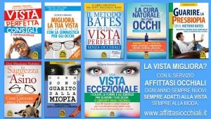 libri vista da Affittasi Occhiali